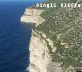 Die Dingli Cliffs von Malta