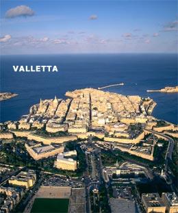 Luftansicht Valletta