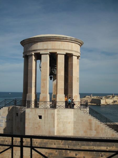 Siege Bell Memorial Mahnmal