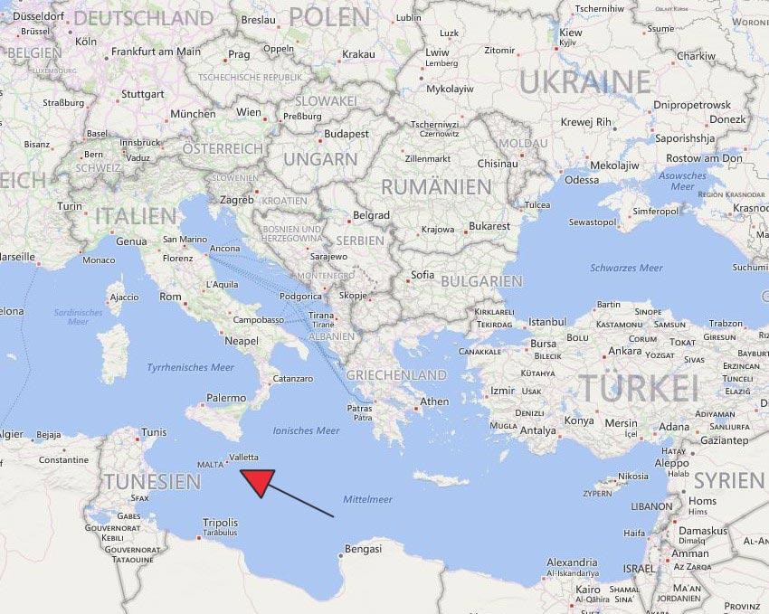 Wo liegt Malta