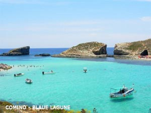 Comino Blaue Lagune