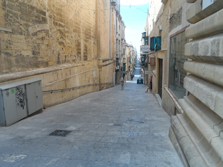 Malta verlaufen