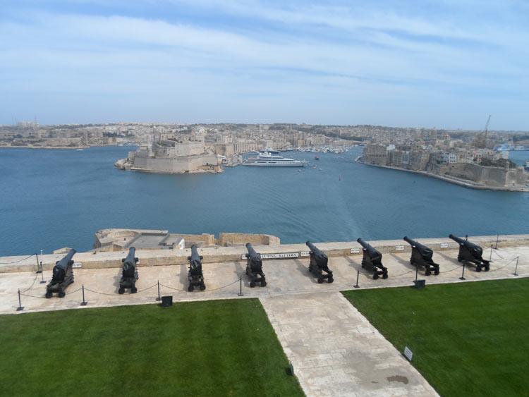 Valletta Ausblick