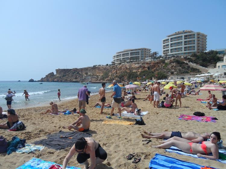 Malta Sandstrand