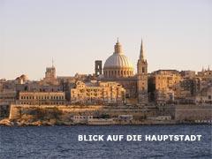 Valletta vom Wasser