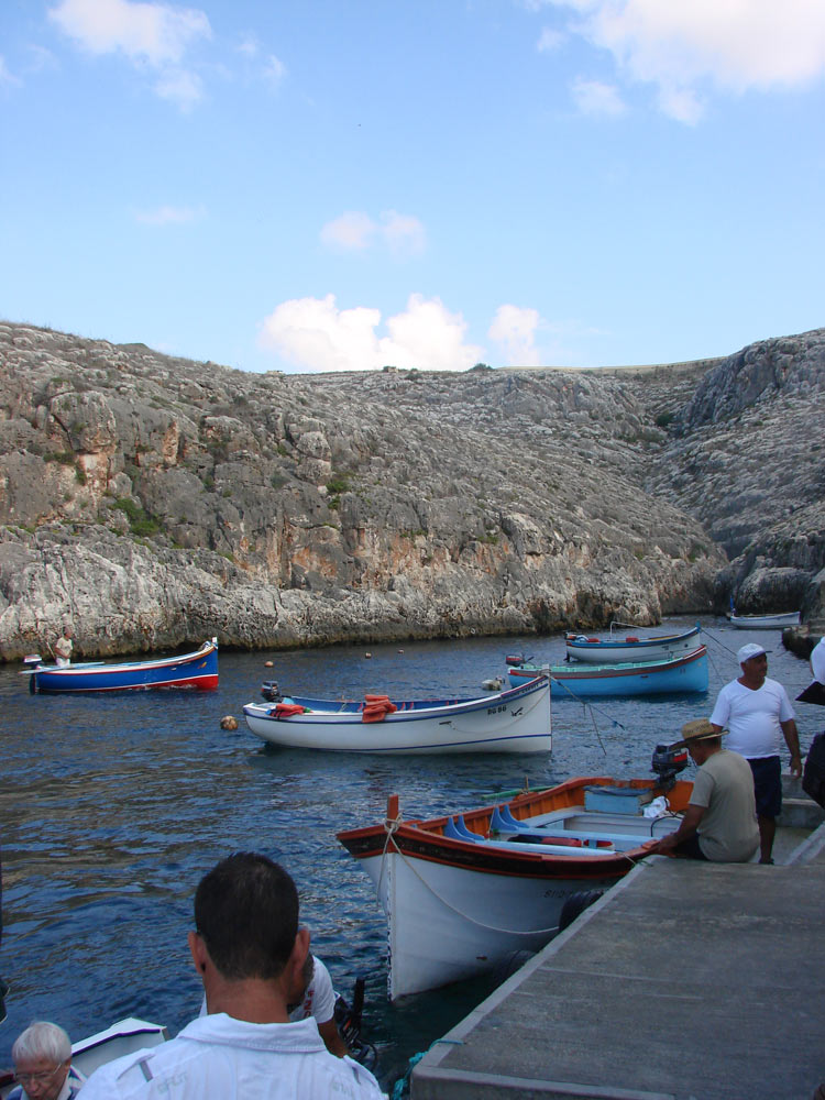 Blue Grotto Bootstour