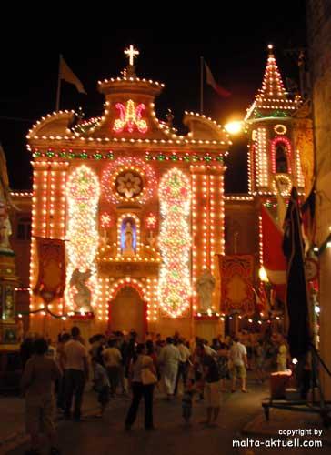 Malta Festa im Sommer