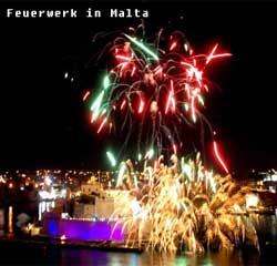 Feuerwerk Malta