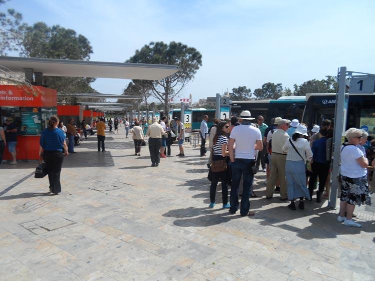 Bus fahren Malta