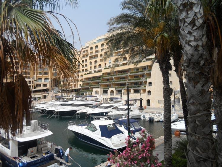 Hilton Malta Yachthafen