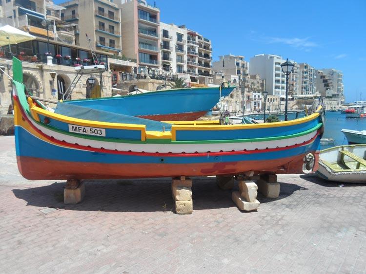 St. Julians Fischerboote